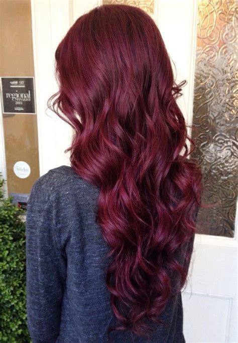 purple burgundy hair color mahogany 99j get instant length and volume