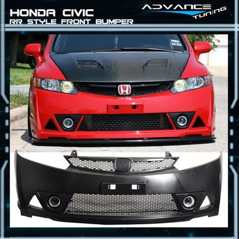 Honda Bumper by For 06 11 Honda Civic Mugen Rr Style Front Bumper Front