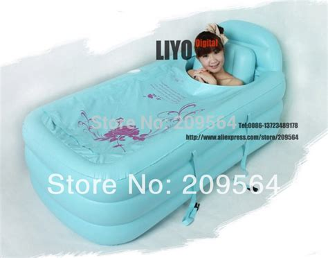 bathtub plastic cover 120 90 50cm spa pvc folding portable bathtub inflatable