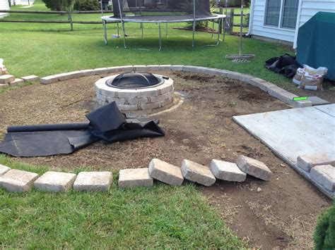 stone fire pit patio natural stone fire pit patio and