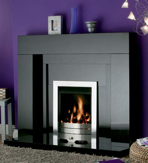 In Fireplace by Stonehenge Black Granite Fireplace York Fireplaces Fires