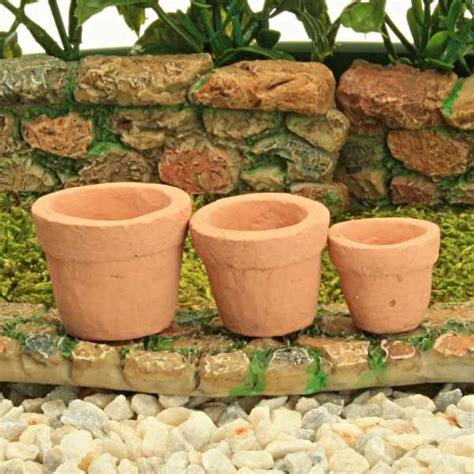 Handmade Garden Pots - handmade miniature clay pots three sizes garden by 28