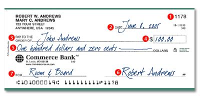 how to write a strong personal writing a check to cash