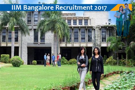 Iim Bangalore Cut 2017 For Mba by Iim Bangalore Recruitment For Academic Associates Naukri Nama