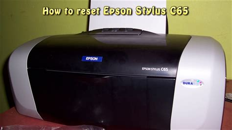 resetter epson c65 reset epson c65 waste ink pad counter youtube