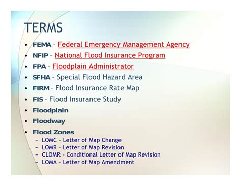 National Insurance Letter M Floodplain Manager Daily Grind