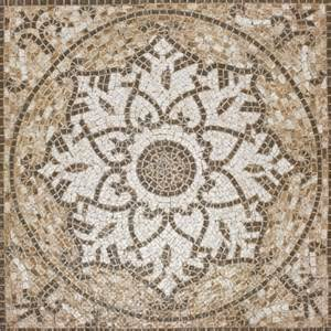 Kitchen Backsplash Medallion tuscan medallion 24x24 ceramic mosaic glazed tilesbay com