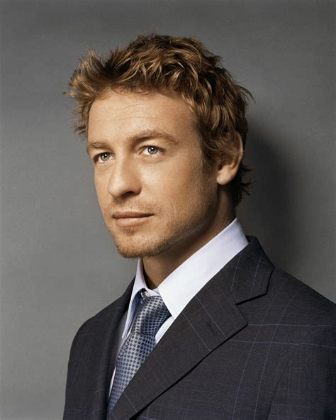 blond hair actor in the mentalist i hate blond men except for simon baker he is one fine