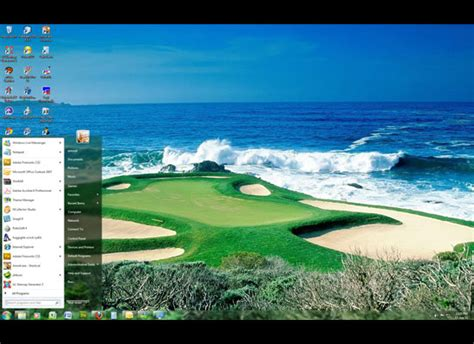 golf wallpaper for windows 10 top 10 custom windows 7 themes with ocean wallpaper