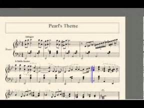 Steven universe pearl s theme sheet music youtube