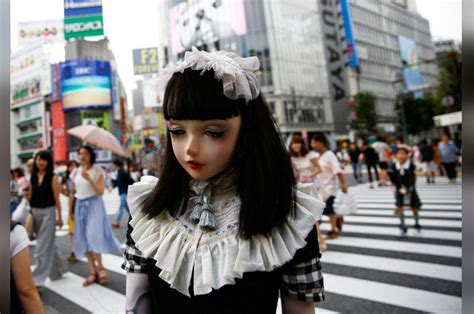 doll fashion in japan meet lulu hashimoto japanese living doll fashion model