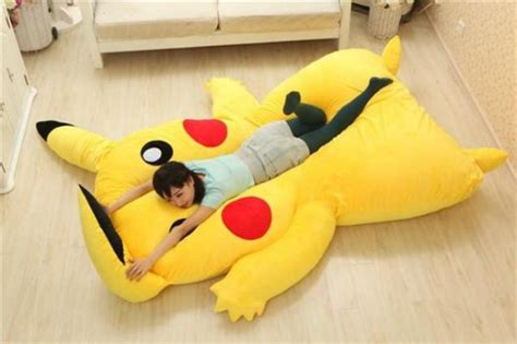 pokemon bed pikachu snorlax pok 233 mon beds i choose you