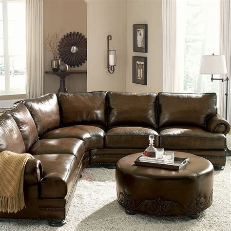 rustic sectional sofa furniture rustic brown leather sectional sofa for rustic