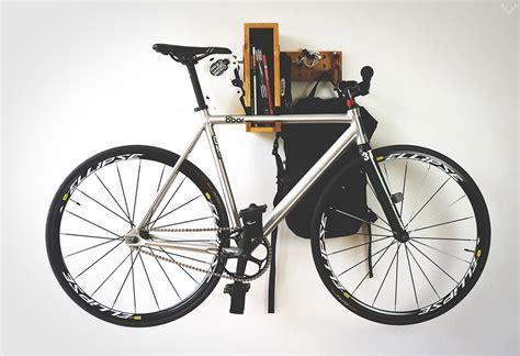 Bike Shelf by Berlin Wooden Bicycle Shelf Lumberjac