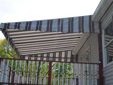 Stationary Awnings For Decks by Stationary Awnings Hudson Valley Ny Dutchess Awnings