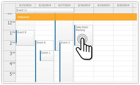 tutorials daypilot for asp net mvc calendar scheduler touch devices event calendar daypilot documentation