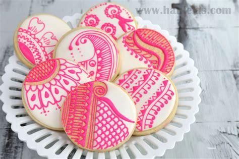 henna design biscuits haniela s henna cookies pattern templates