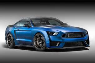 next ford mustang shelby gt500 looks in rendering gtspirit