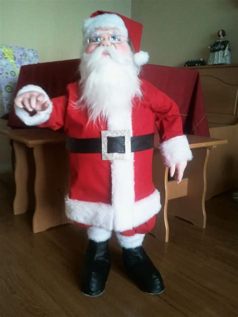 imagenes de santa claus viejo for this christmas i made this santa i wanted it to be