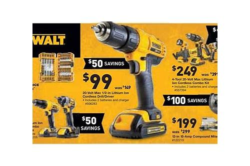 dewalt black friday deals lowes