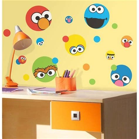 sesame street wall stickers look choose from 9 styles