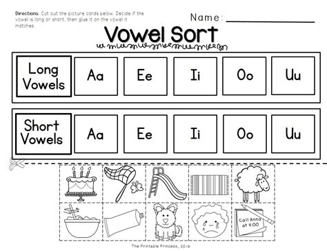 vowel pattern activities short vowels and long vowels activities pictures and