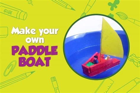 how to make a paper paddle boat how to make a rubber band powered paddle boat chak