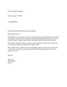 Complaint Letter To Bank For Bounced Cheque Customer Bounced Check Letter By Brittanygibbons Letter
