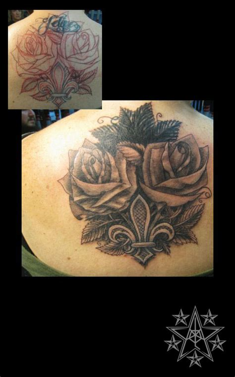 bed of roses tattoo flower tattoos muskegon michigan usa