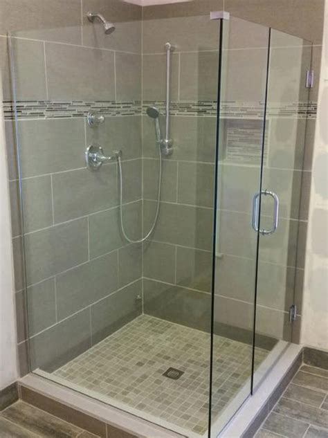 Customized Shower Doors Custom Glass Shower Doors Bryn Mawr Glass Mirror