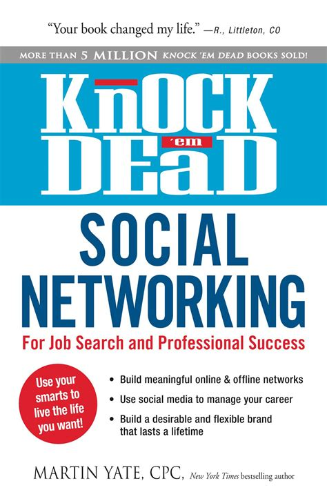 knock em dead the ultimate search guide books knock em dead social networking book by martin yate