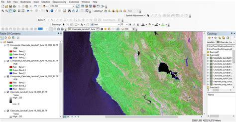 arcgis tools tutorial imagery tools in arcgis desktop