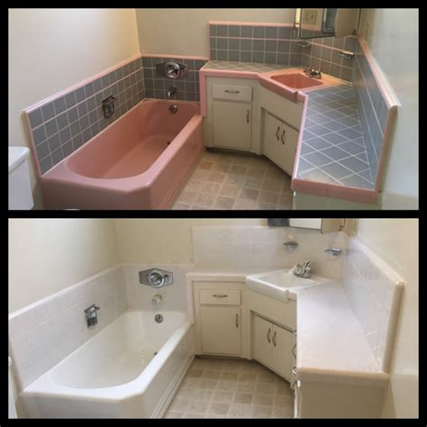 Easy Bathroom Makeovers by A And Easy Bathroom Makeover Bathtub Refinishers
