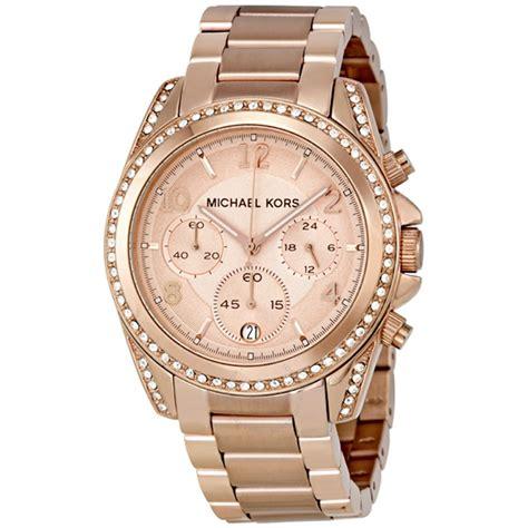 michael kors watch women michael kors blair chronograph rose dial ladies watch