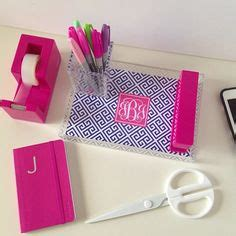 Preppy Desk Accessories Preppy Organization On Pinterest Preppy Desks And Lilly Pulitzer