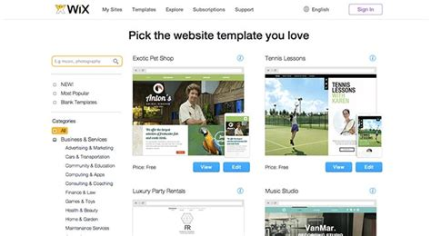 wix templates for 10 things to before using wix wix review mar