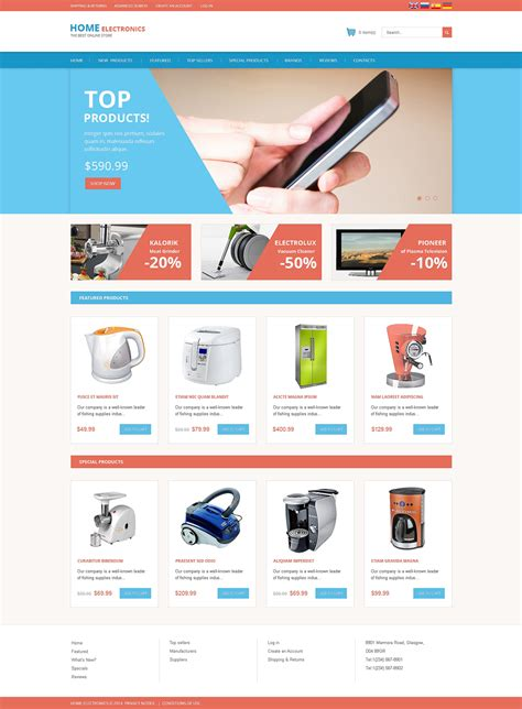 os commerce templates consumer electronics oscommerce template 51233