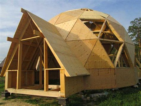 25 best ideas about geodesic dome homes on