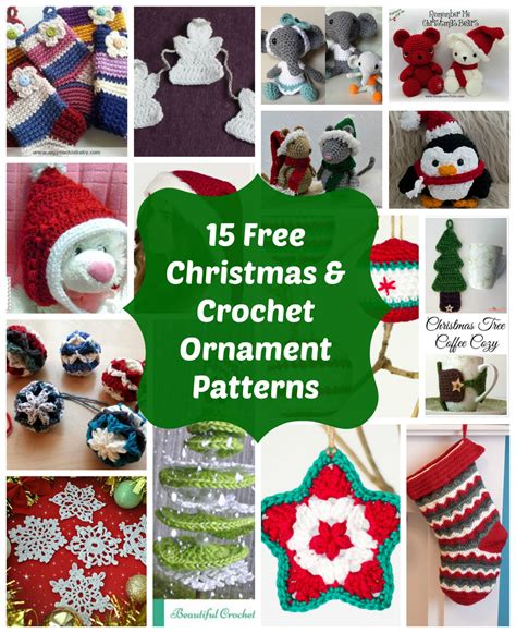 15 most loved free crochet christmas ornaments and holiday