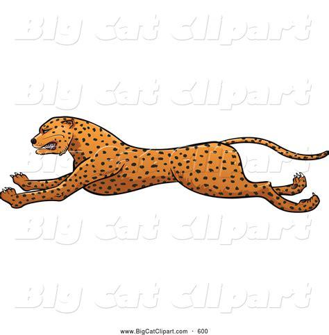 cheetah clipart royalty free running cheetah stock big cat designs