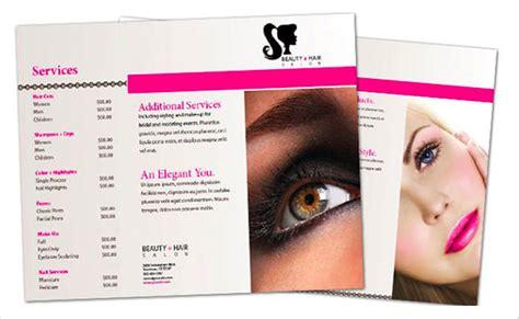 beauty parlour brochure templates 35 free jpg psd