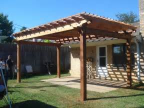 Small Backyard Pergola Ideas Inside Out Living 1st Pergola Build
