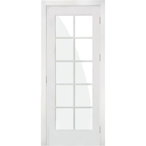 Single Lite Interior Door by Krosswood Doors 28 In X 80 In 10 Lite Solid Mdf