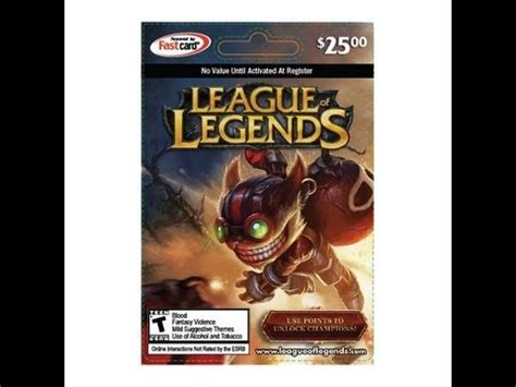 League Of Legends Riot Points Giveaway - league of legends 500 subscriber riot point giveaway free rp card ended youtube