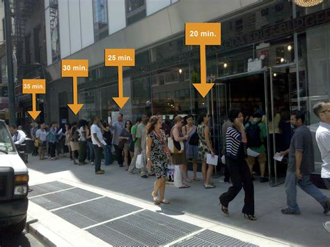 shake shack how to determine your shake shack wait time shake shack line midtown lunch