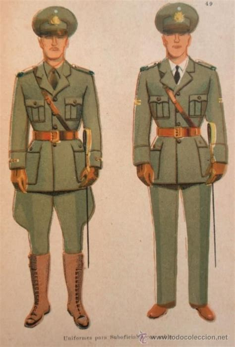 What Is A Non Commissioned Officer by Argentine Army 1946 Pattern Non Commissioned Officers