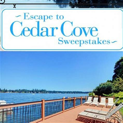 Cedar Cove Sweepstakes - escape to cedar cove sweepstakes sweepstakesbible