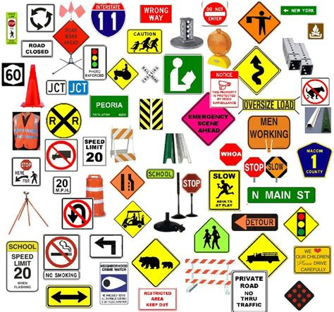road sign colors signs colors shapes all exles signs