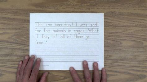 Small Diary writing a diary journal with your child
