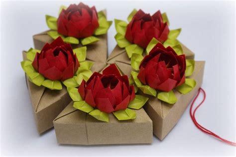 origami fiori origami fiore di loto fiori di carta come fare fiori